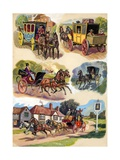 Carriages over the Ages Giclee Print by Derek Charles Eyles