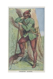 Cheshire Archer Giclee Print by  English School