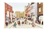 Windsor Castle, 1989 Giclee Print by Gillian Lawson