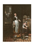 The Idle Servant Giclee Print by Nicholaes Maes