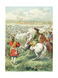 King Louis XIV Crossing the Rhine Giclee Print by Frederic Theodore Lix