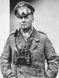 Erwin Rommel in Typical Desert Dress of the North African Campaign, c.1941 Photographic Print by  German photographer