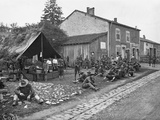 American Quarters in a French Village, 1917-18 Photographic Print by Jacques Moreau