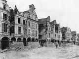 Grande Place, Arras, 1917 Photographic Print by Jacques Moreau