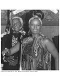 Celia Cruz on Stage, 15 July 1976 Photographic Print by  American Photographer
