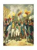 The Eve of the Battle of Austerlitz Giclee Print by Frederic Theodore Lix