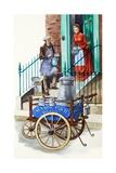 Nineteenth Century Milk Man Giclee Print by Peter Jackson