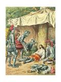 Death of Bayard Giclee Print by Frederic Theodore Lix