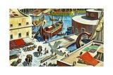 Carthage Giclee Print by Ruggero Giovannini