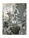 The Fall of Constantinople, 1453 Giclee Print by Angus Mcbride