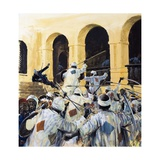 Death of General Gordon of Khartoum Giclee Print by Graham Coton