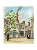 The Times Was Started in 1785 in Printing House Square Giclee Print by Ralph Bruce