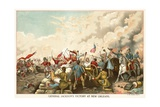 General Jackson's Victory at New Orleans Giclee Print by Dennis Malone Carter