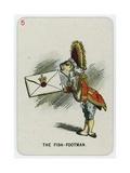 The Fish-Footman Giclee Print by John Tenniel