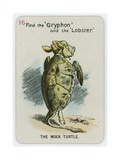 The Mock Turtle Giclee Print by John Tenniel