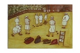 Bowling, 1988 Giclee Print by Gillian Lawson