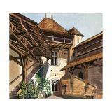 Chateau de Chillon Giclee Print by Dan Escott
