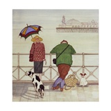 Brighton Pier, 1986 Giclee Print by Gillian Lawson