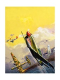 The Flying Tigers During the Spanish Civil War Giclee Print by Severino Baraldi