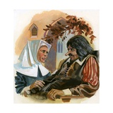 Cyrano de Bergerac Giclee Print by Andrew Howat