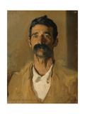 Study of a Sicilian Peasant, 1907 Giclee Print by John Singer Sargent
