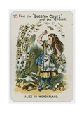 Alice in Wonderland Giclee Print by John Tenniel