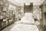Bedroom, 1930 Photographic Print by Paul Follot