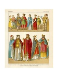 Franks 400-600 AD Giclee Print by Albert Kretschmer
