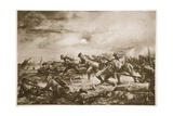 Charge of the 4th Canadian Battalion at Ypres Giclee Print by Christopher Clark