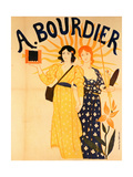 Advertisement for Bourdier Cameras Giclee Print by Paul-Emile Mangeant