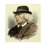 Professor John Stuart Blackie Giclee Print by  English School