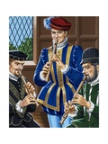Flutes Being Played Giclee Print by John Keay