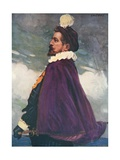 Sir Walter Raleigh Giclee Print by Joseph Simpson