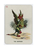 The Gryphon Giclee Print by John Tenniel