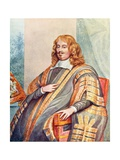 Edward Hyde, Earl of Clarendon Giclee Print by George Perfect Harding