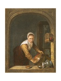 La Menagere Giclee Print by Gerrit or Gerard Dou