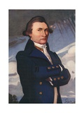 Captain James Cook Giclee Print by Joseph Simpson