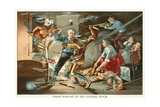 Indian Warfare of the Colonial Epoch Giclee Print by  North American