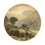 Lake District Scene Giclee Print by Alexander Francis Lydon