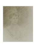 Portrait of Maria Bakhmet'eva, 1915 Giclee Print by Prince Paul Petrovic Troubetzkoy