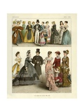 German Costumes 1834-1881 Giclee Print by Albert Kretschmer