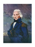 Admiral Nelson Giclee Print by Joseph Simpson