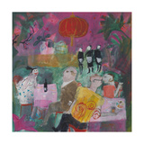 Out for a Chinese, 2011 Giclee Print by Susan Bower