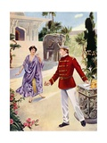 Lakme, Act I Scene X Giclee Print by William De Leftwich Dodge