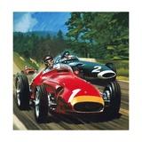 Juan Manuel Fangio Giclee Print by Wilf Hardy