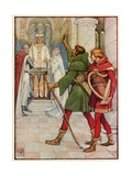 Robin Hood and Allin-A-Dale Giclee Print by Walter Crane