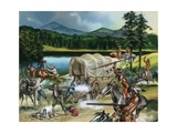 When the Red Man Rode: The Nez Perce Giclee Print by Ron Embleton