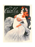 'La Criolla', Music Hall Poster, 1902 Giclee Print by Jules-Alexandre Grün