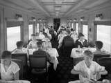 D&Rgw Dining Car Interior, c.1927 Photographie par George Lytle Beam