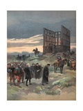 The Superintendent Semblancay Sentenced to Death, Illustration from 'Francois Ier: Le Roi… Giclee Print by Albert Robida